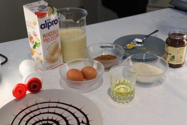 Ingredienti per la Spider Cake di Halloween